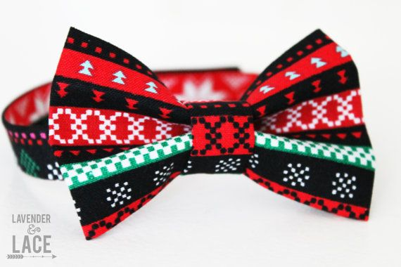 Hey, I found this really awesome Etsy listing at https://www.etsy.com/listing/205727127/new-tribal-christmas-bow-tie-baby-bow