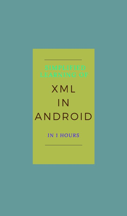 #XML stands for Extensible #MarkupLanguage. #XML is a markup #language much like #HTML used to describe data.  #XML tags are not predefined in #XML. We must define our own #Tags.#Xml as itself is well readable both by human and #machine. Also, it is #scalable and simple to #develop. In #Android we use #xml for #designing our #layouts because xml is lightweight #language so it doesn't make our #layout heavy.