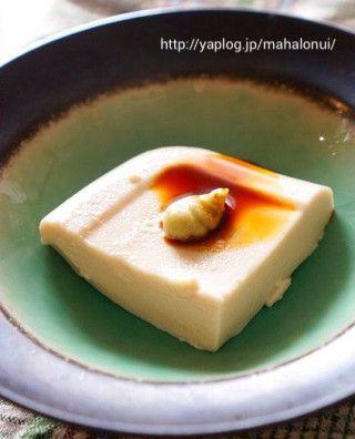 片栗粉で簡単☆料亭風ごま豆腐