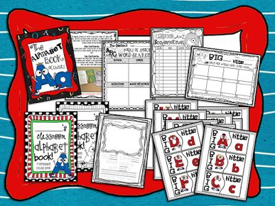 Activities to do after reading Dr. Seuss's ABC Book