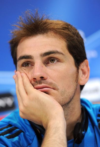 Iker Casillas - Real Madrid Training & Press Conference