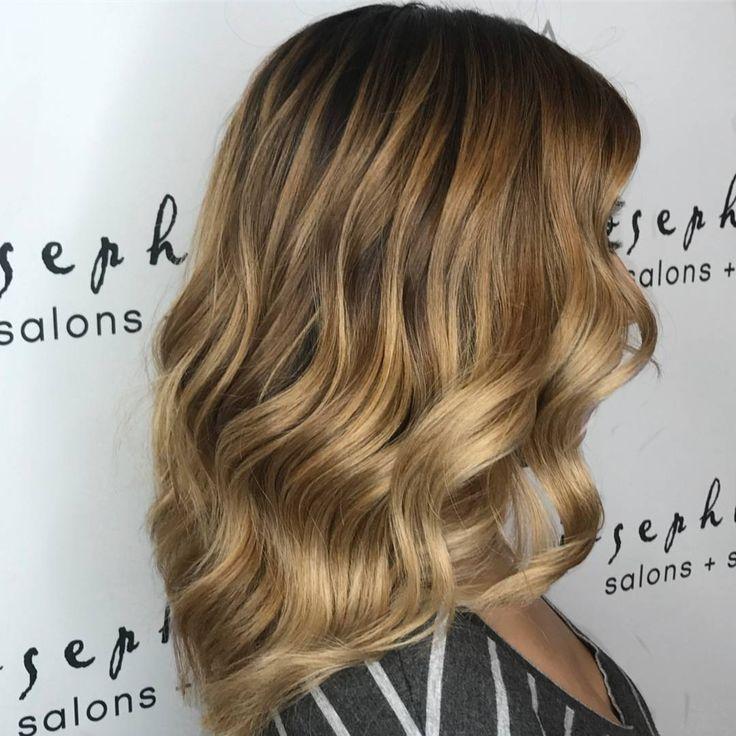 Honey colored hair by Josephine's Day Spa & Salon Houston, Texas