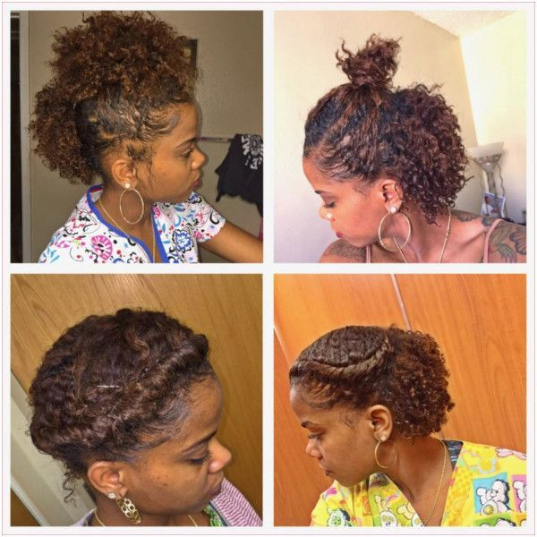 Quick Styles For Short Natural Hair Photo 8 Short Natural Hair Styles Short Hair Styles Easy Natural Hair Styles