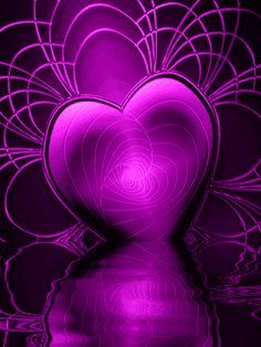 Free Moving Desktop Backgrounds | Animated Purple Heart Mobile Phone Wallpapers 240x320 Hd Wallpaper ...