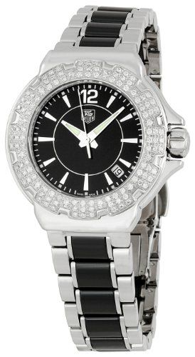 TAG Heuer Women`s WAH1214BA0859 Formula 1 Ceramic Watch for only $1,978.77 You save: $1,221.23 (38%)