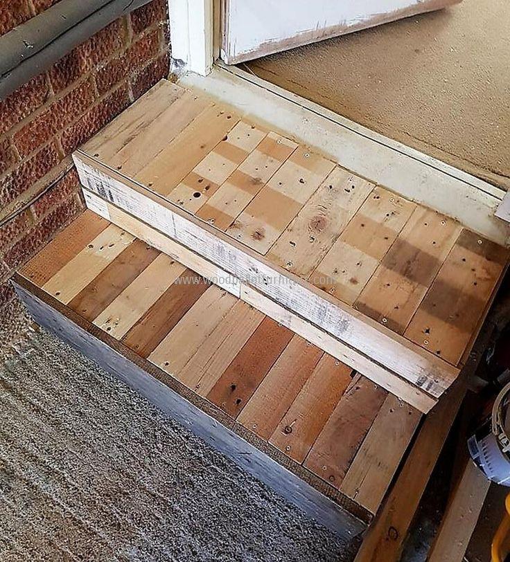 Wooden Pallet Stairs Ideas: Best 25+ Pallet Stairs Ideas On Pinterest