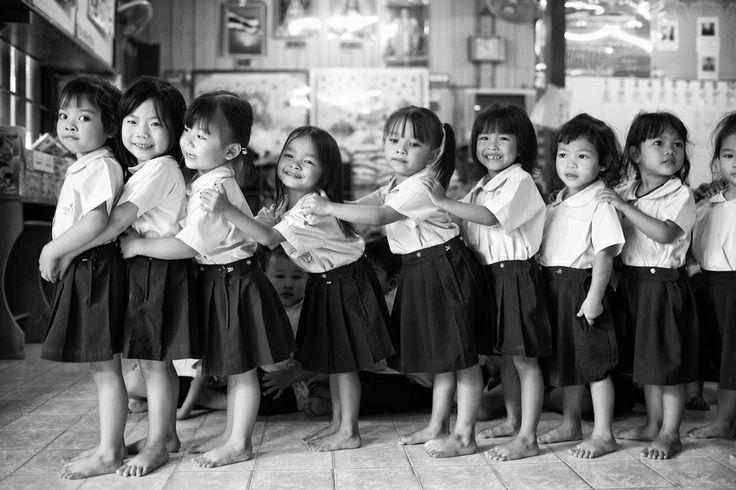 school kids by Ian Taylor, via 500px