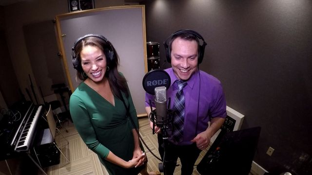 We started seeing glimpses on social media Monday of what was to come: a Christmas duet from Paul Milliken and Alyse Eady.