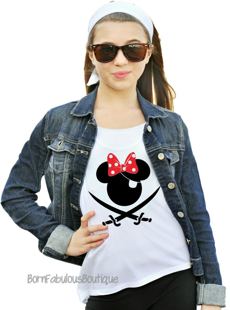 Disney Cruise Pirate Shirt - Womens Tanks (8 Colors To Choose From!)