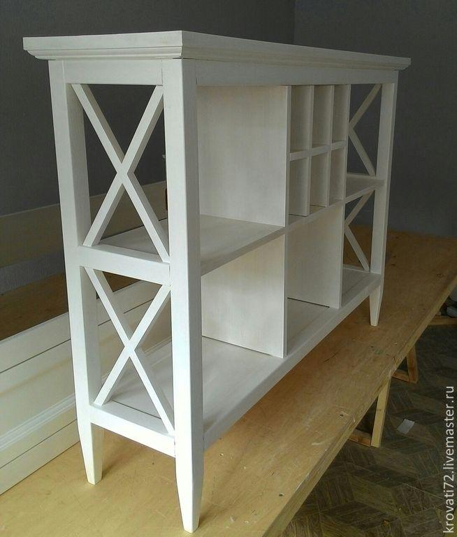 Купить Консоль мебельная - белый, спальня, прихожая, гостиная, Мебель, мебель ручной работы