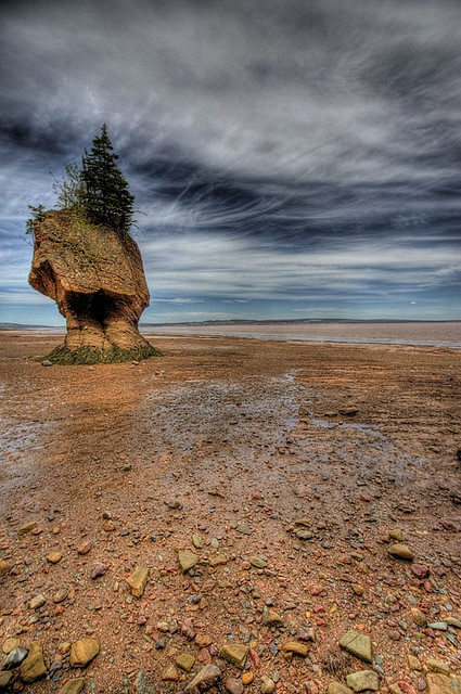 Hopewell Rocks, NB.