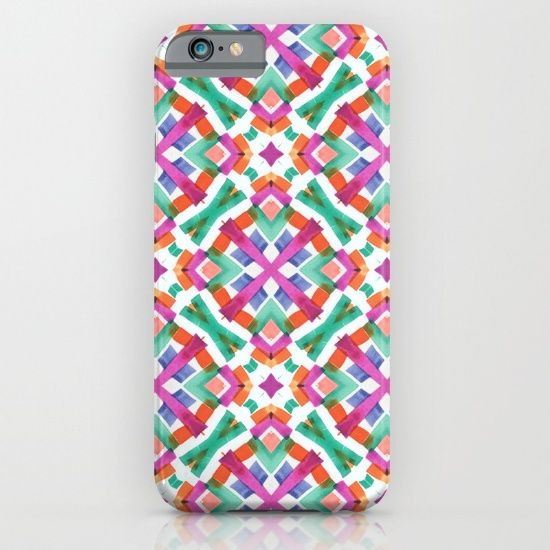 Protect your iPhone with a one-piece, impact resistant, flexible plastic hard case featuring an extremely slim profile. Simply snap the case onto your iPhone for solid protection and direct access to all device features. https://society6.com/product/watercolor-boho-dash-2-0sj_iphone-case?curator=wellglow