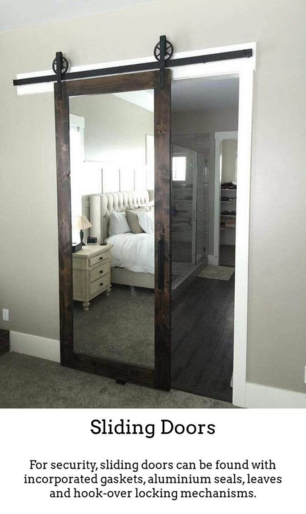 Sliding Doors Build Modern Brighter Rooms While Using Thermally Insulated Sliding And Foldable Doors Just The Remodel Bedroom Home Bedroom Bedroom Makeover