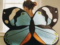 Disfraz casero de mariposa: Craft, Halloween Costumes, Butterflies, Costume Ideas, Martha Stewart, Butterfly Wings, Kid
