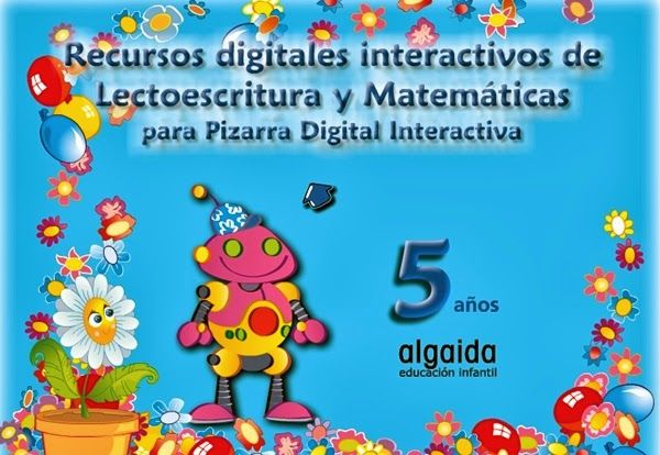 Recursos Educativos de Educación Infantil: Pizarra Digital Algaida