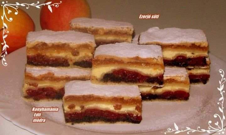 Ezerjó süti recept | Receptneked.hu (olcso-receptek.hu) - A legjobb képes receptek egyhelyen