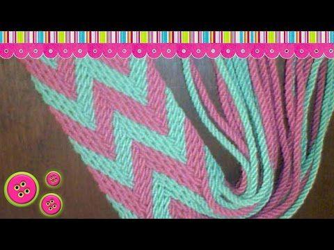 Monedero/Clutches Wayuu part 1/5 - YouTube
