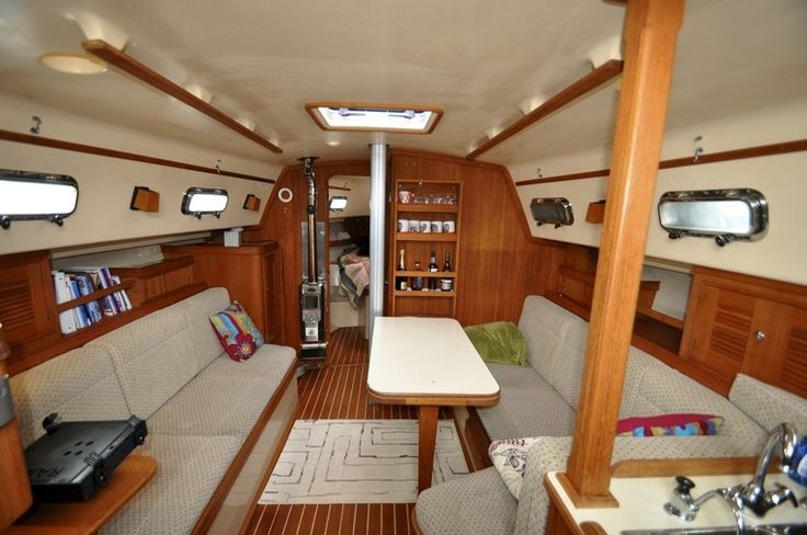 246 best images about living aboard a boat on pinterest the boat boats and navigation lights - Small homes big space collection ...