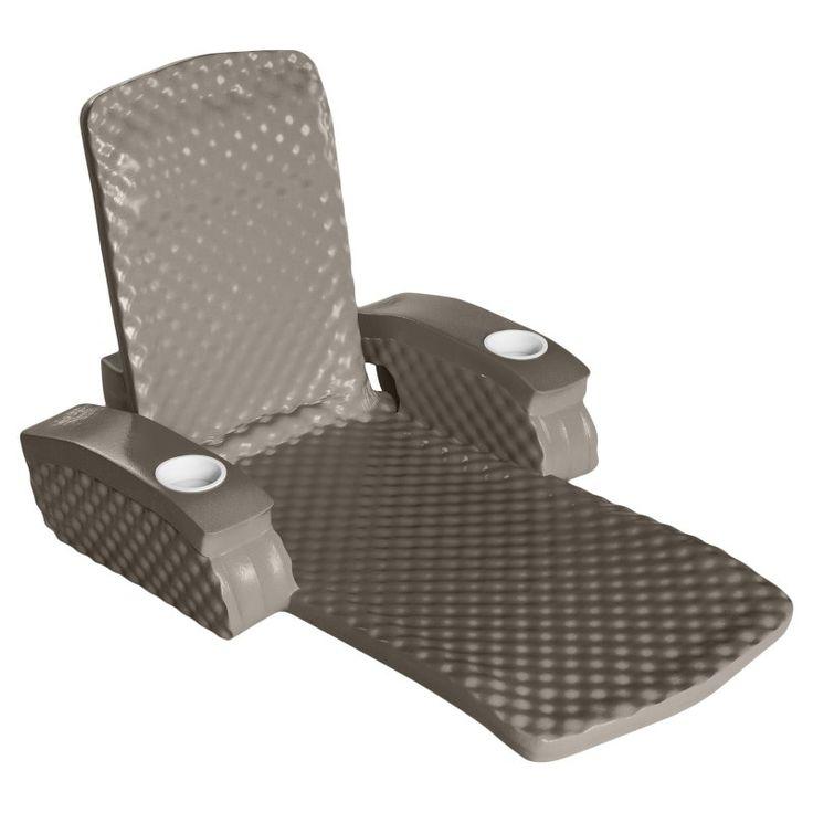 TRC Recreation Baja II Folding Foam Pool Float Lounge Bronze - 6570118, Durable
