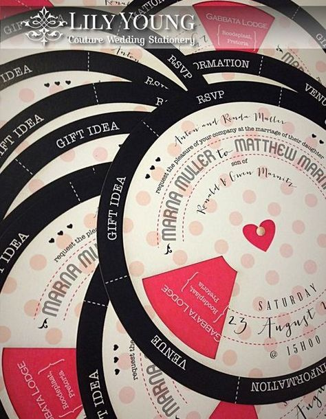 30 Interactive And Creative Wedding Invitations | http://HappyWedd.com