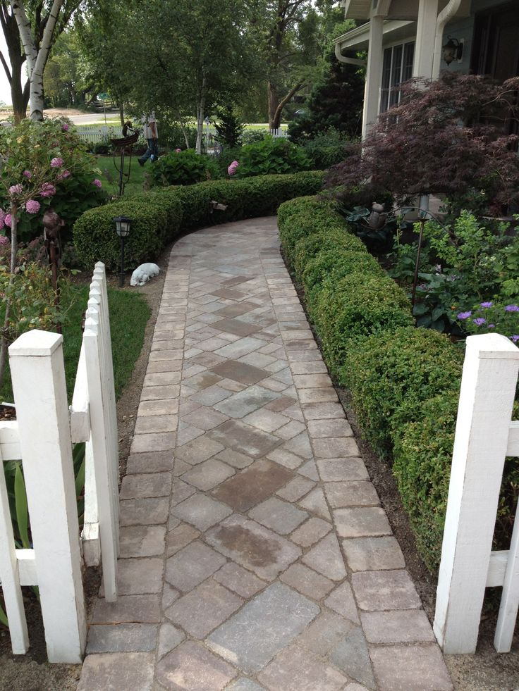 A Walk Way To Your Vacation Cottage Created With Unilock