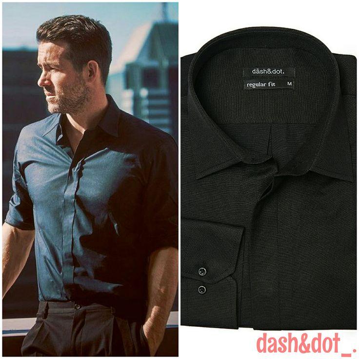 Aντέγραψε το look του Ryan Reynolds_. Για τις επίσημες περιστάσεις επέλεξε το αγαπημένο μας Dash & dot_. μονόχρωμο πουκάμισο σε κανονική γραμμή_. Άνετο και ανάλαφρο, συνδυάζεται ιδανικά με κουστούμι, για να είσαι καλοντυμένος και το καλοκαίρι_. Bρείτε το στα καταστήματα μας και σε επιλεγμένα καταστήματα σε όλη την Ελλάδα_. Για παραγγελίες τηλεφωνήστε μας στο 210 2622042_ . #dashndot #dashndoting #men #shirts #summer #fashion #tips