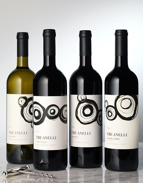 CF Napa Brand Design - Tre Anelli Wine Label and Package Design