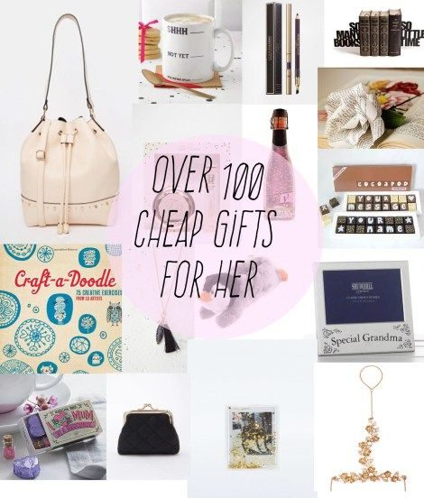 Over 100 Cheap Gift Ideas For Women Of All Ages!