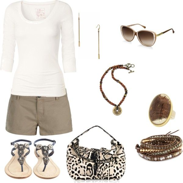 Taupe and White..........so clean and fresh........love it:)