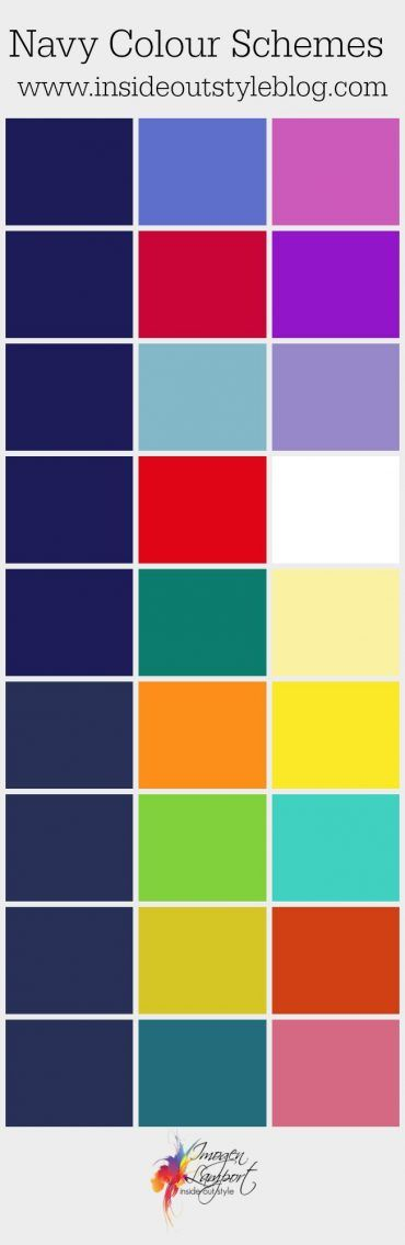 The 25 best navy color schemes ideas on pinterest blue - What colour goes with lilac ...