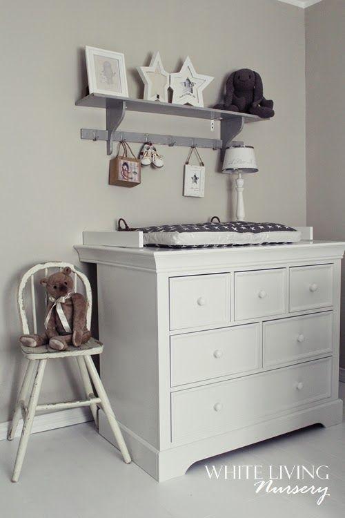 Fabulous White Living Nursery