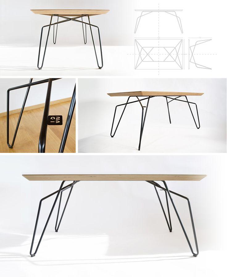 DININIG TABLE BLACK SET 1 NAGI www.justnagi.com