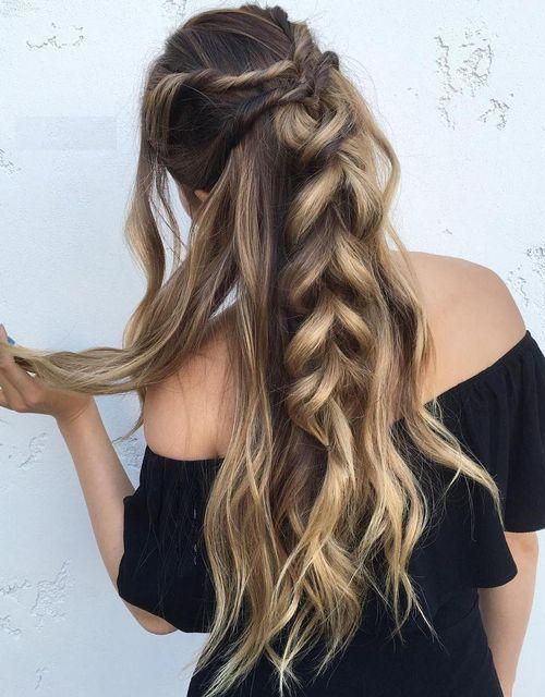 Braids Long Length Hairstyle 2016 - 2017