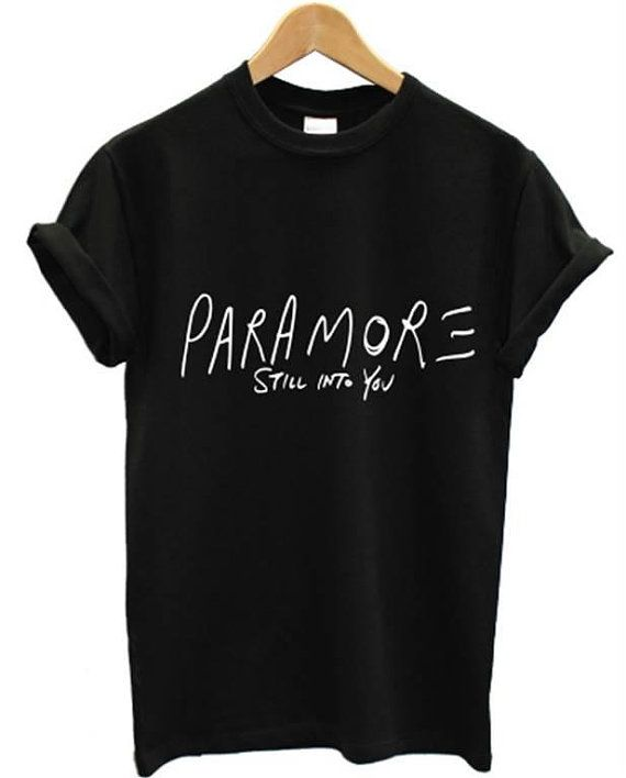 paramore still into you t shirt Top Tee american rock band hayley williams