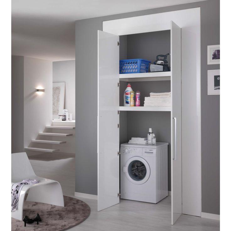 ... armadio, Ripostiglio lavanderia e Armadio lavanderia piccola