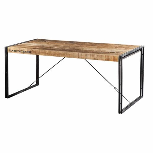 Eettafel 'Iron Industrieel'