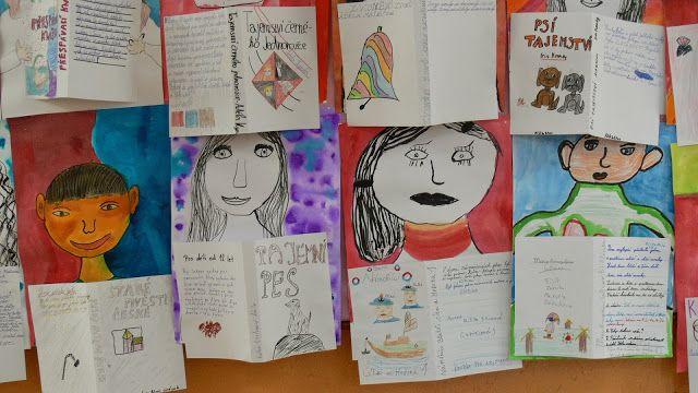 a tentokrát jiná pátá třída: Věk: 5. třída, formát A3,kolorovaná kresba tuší anilínkami nebo vodovkami, 2 vyučovací ho...