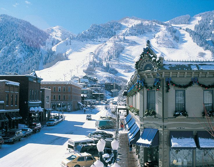Aspen, Colorado. Best place in the U.S. to ski and have fun. Four different mountains to ski plus interesting apres ski! Too expensive now.
