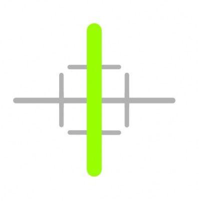 """""""zielona oś tychy"""" - logo"""
