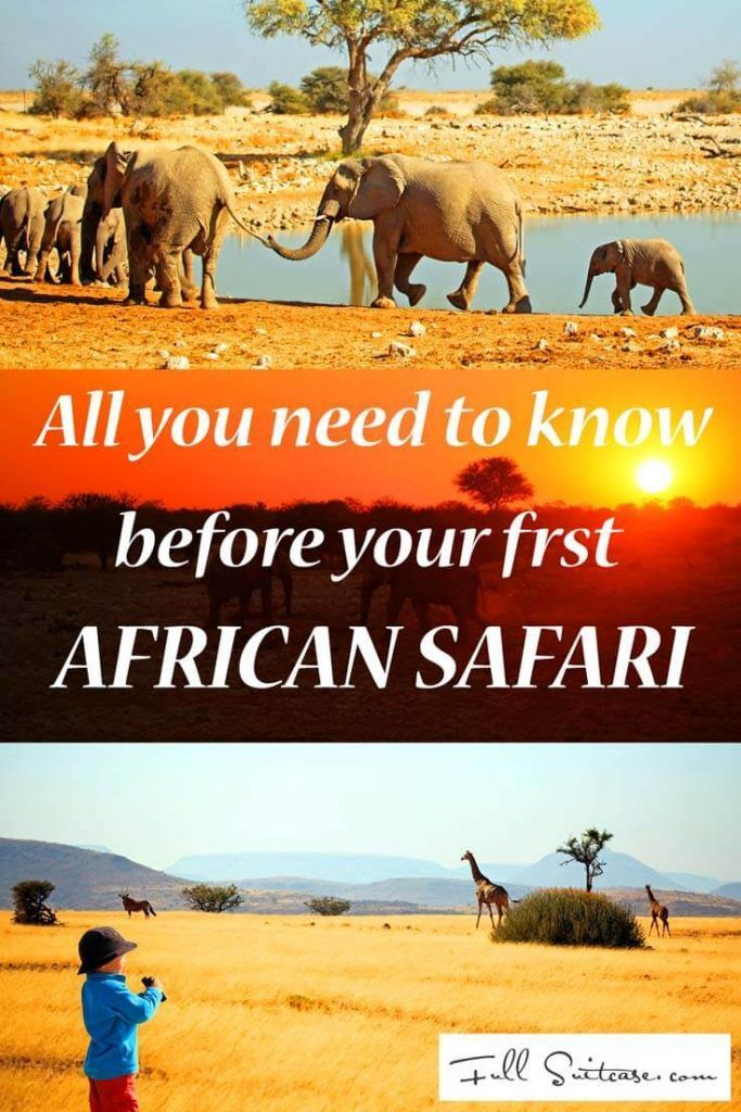 Everything you need to know before your first African safari: clothing advice…