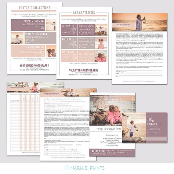 22 best Pricing Guides images on Pinterest Templates, Adobe and - a la carte menu template