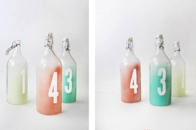 Decorare le bottiglie d'acqua di vetro - Magazine - Tempo Libero - quotidiano.net