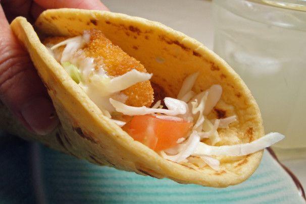 Robyn 39 s fish stick tacos recipe tacos photos and sticks for Fish stick tacos