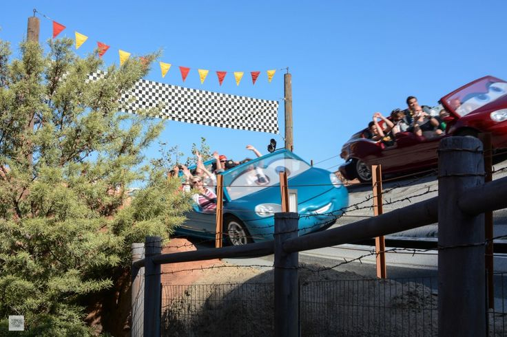 Accessible Attractions - Radiator Springs Racers