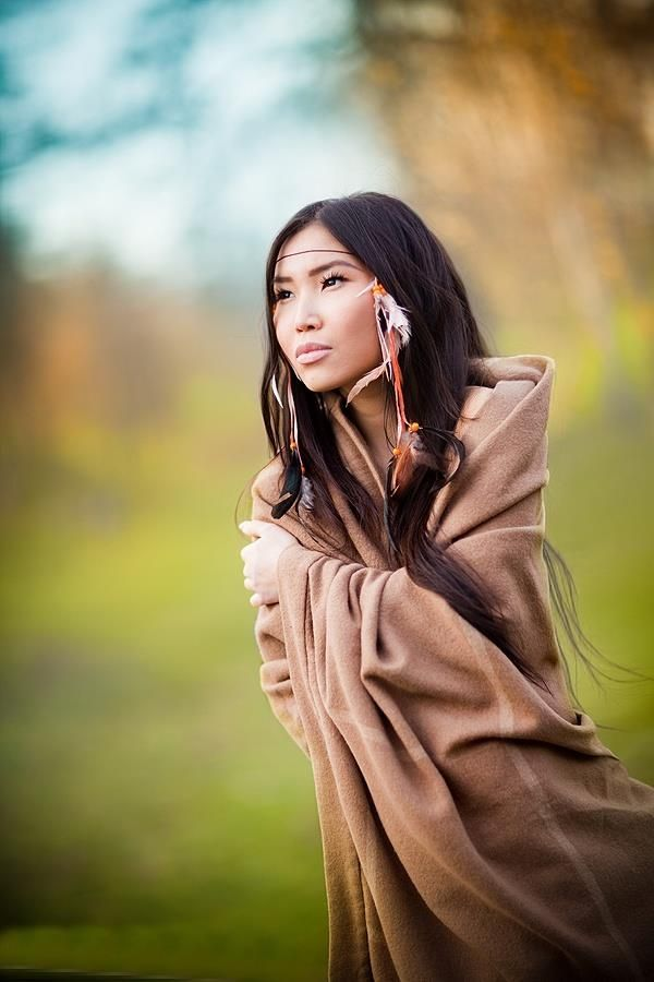 Native american teen girl — 1