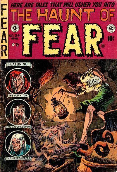 Inbetweens: EC Horror Comics Covers - AnimationResources.org - Serving the…