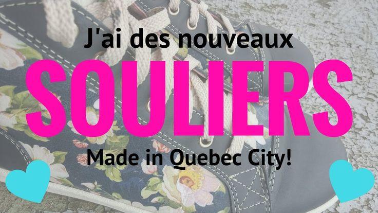 Merci beaucoup à la boutique Amimoc du Petit-Champlain pour m'avoir fourni ses magnifiques et confortables souliers ''made in Québec!'' Ils ont des heures de...