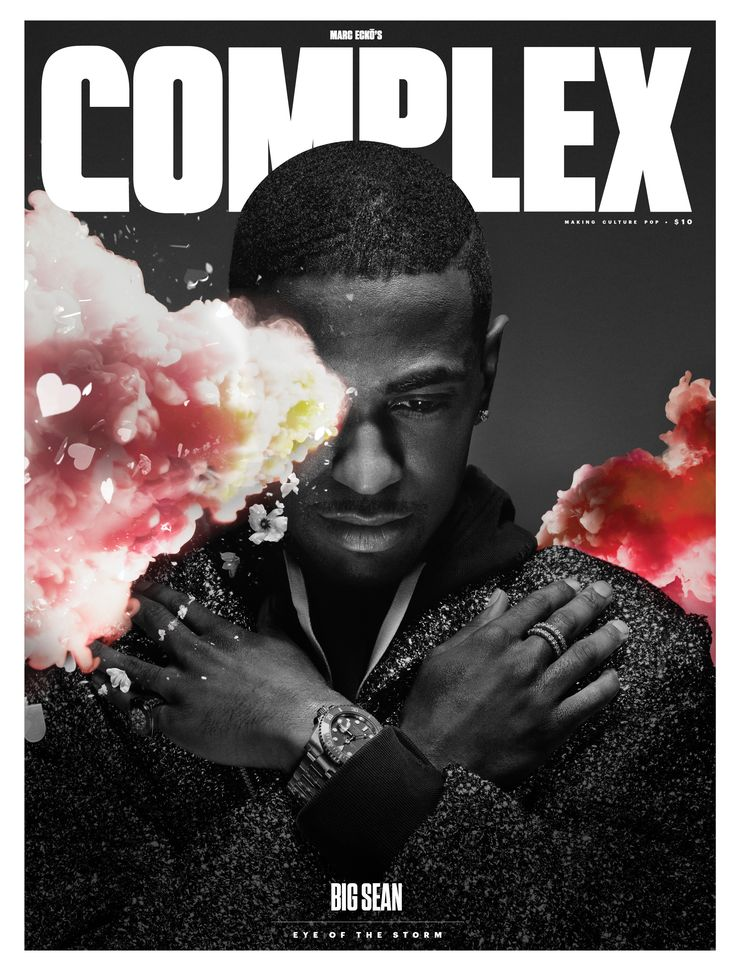 Big Sean for Complex - Feb / March 2015