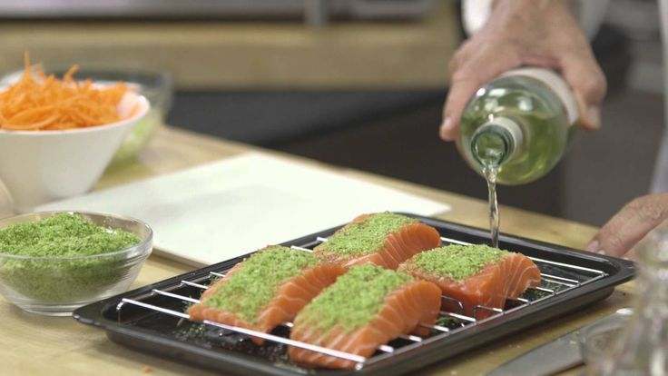 Exclusive Wolfgang Puck Pressure Oven: Steamed Salmon Two Ways