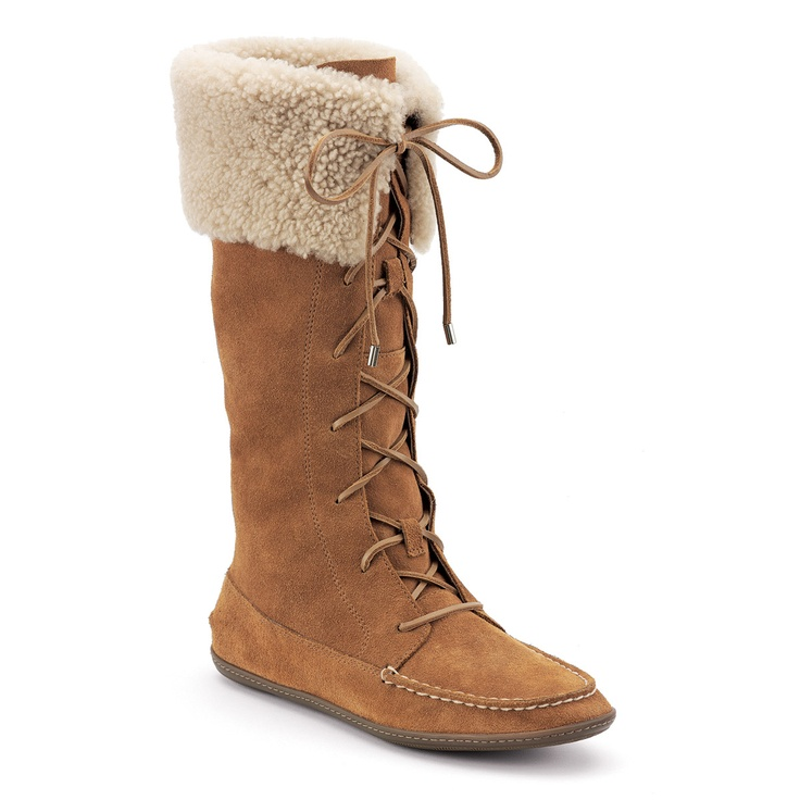 warm but not water proof - $60.00 on SperryTop-Sider.com: Lambswool Sperry, Boats Shoes, Tall Boots, Sperry Tops Sid, Extreme Shoes, Cowboys Boots, Shoes Obsession, Boots 60, Sperry Boots